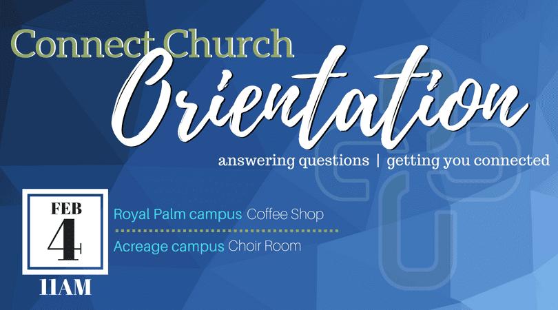 Church Orientation (Blue) – FEB