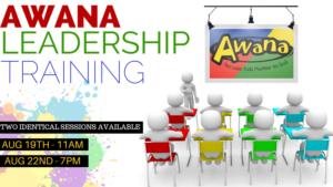 Awana Leadership Training