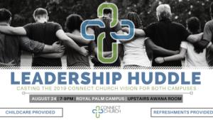 LEADERSHIP HUDDLE