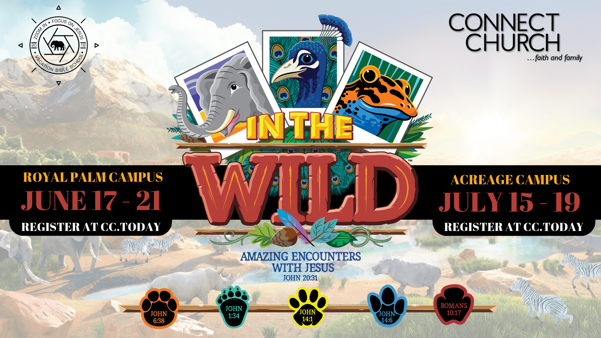 In The Wild – Both Campuses