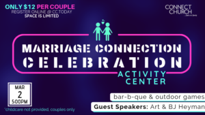 MARRIAGE CONNECTION CELEBRATION