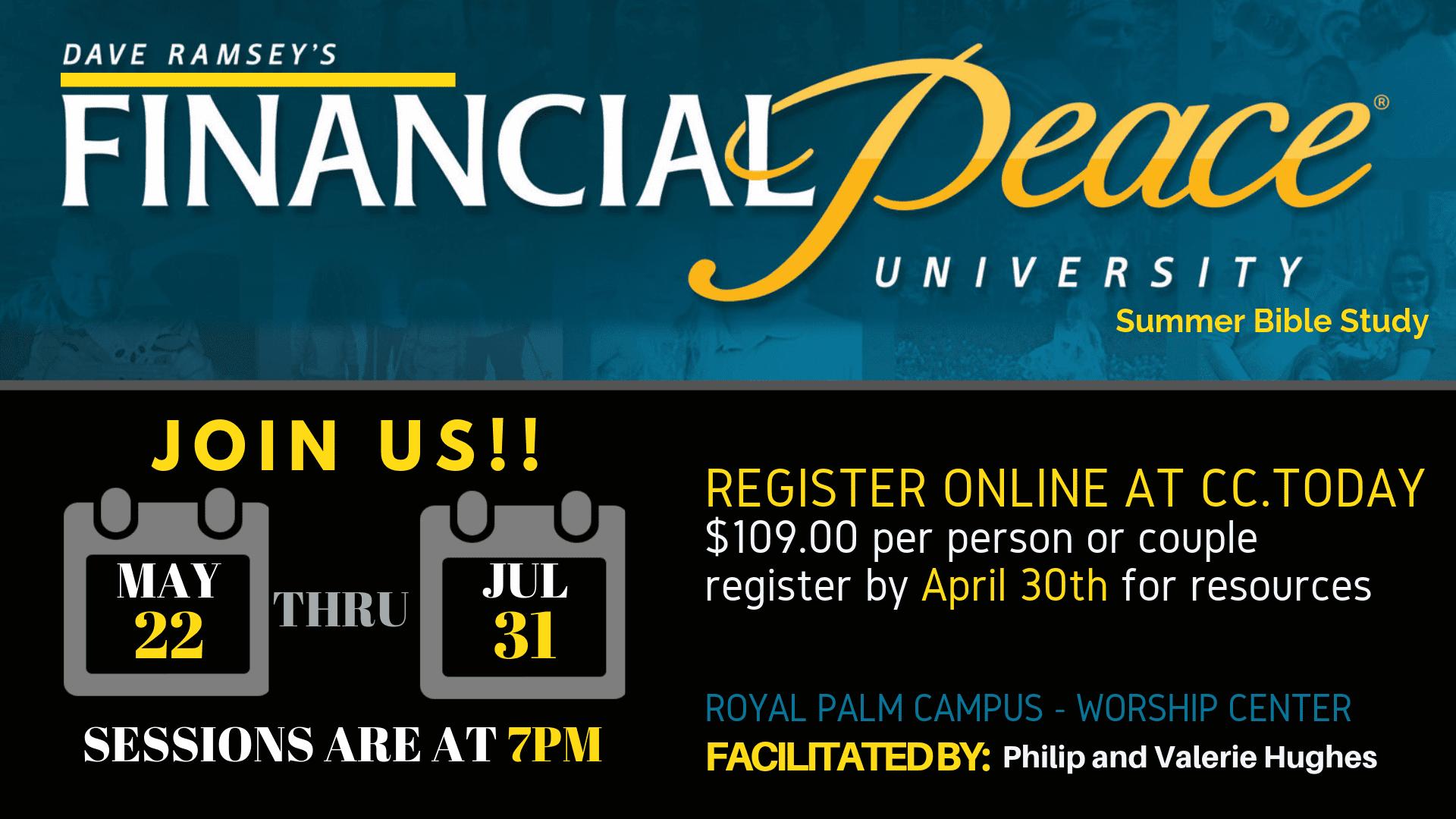 Financial Peace University – Bible Study (2)