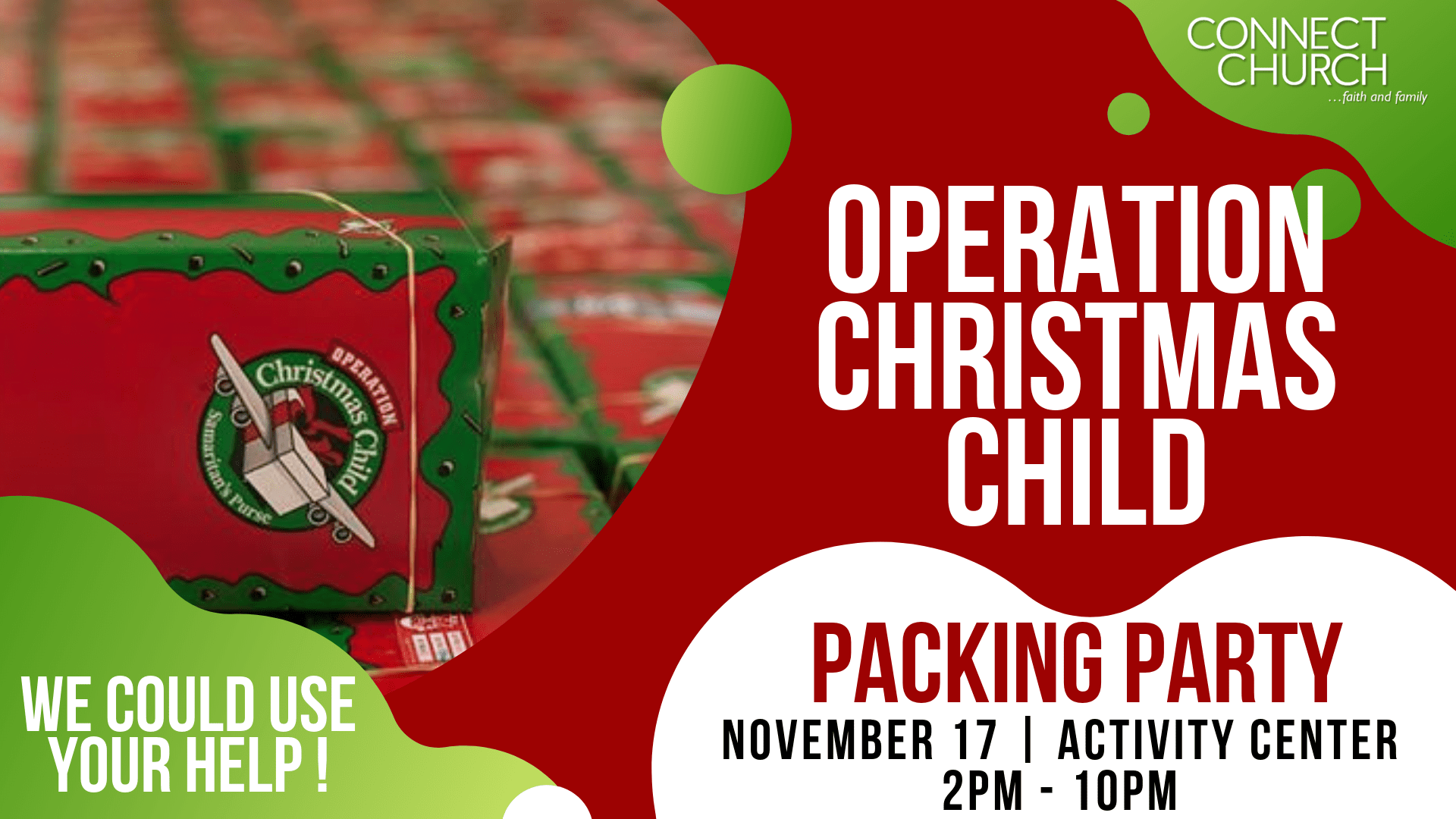 Operation Christmas Child Png.Operation Christmas Child Packing Party Connect Church