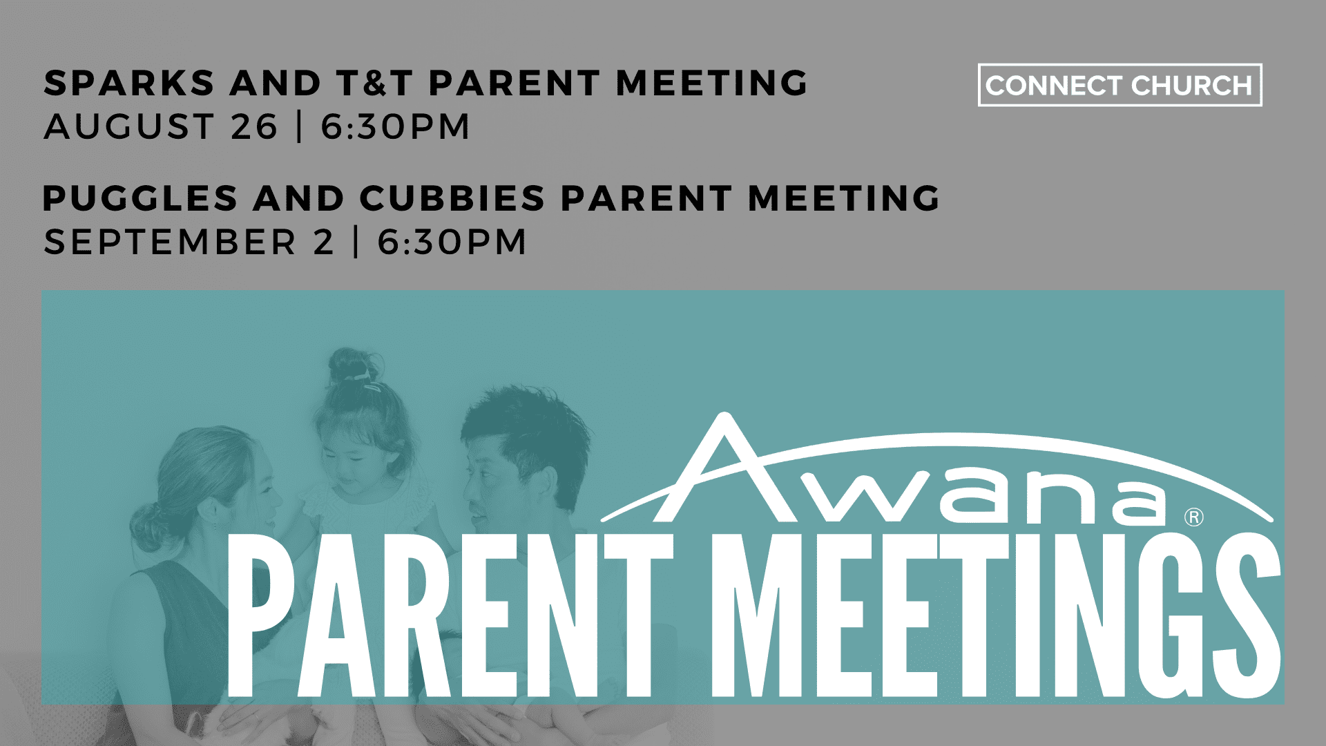 Awana Parent Meetings
